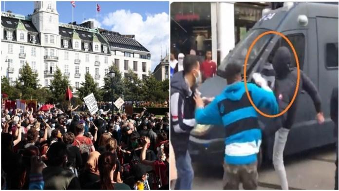 नॉर्वे में मुस्लिमों का उग्र प्रदर्शन