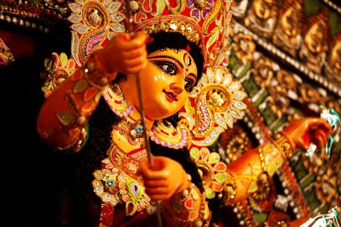 दुर्गा पूजा पंडाल जमशेदपुर