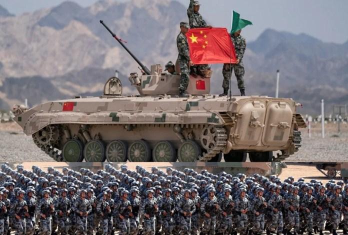 चीनी सैनिक लद्दाख