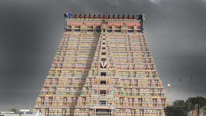 श्रीरंगम, श्रीरंगनाथस्वामी मंदिर, इस्लामी