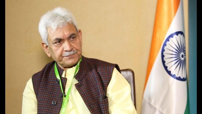 जम्मू कश्मीर के नए उप राज्यपाल मनोज सिन्हा