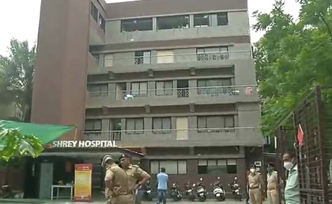 अहमदाबाद के अस्पताल में आग