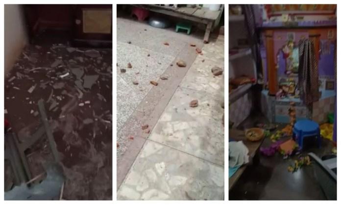 फेसबुक पोस्ट को लेकर हिंदू परिवार पर हमला