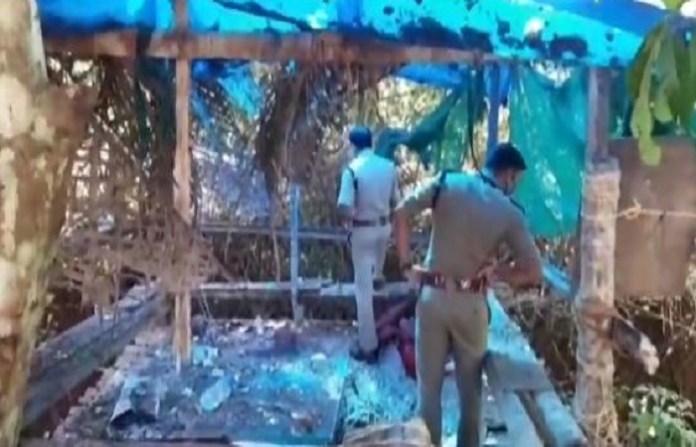 केरल के कन्नूर में धमाका