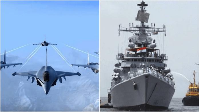 नौसेना, वायुसेना