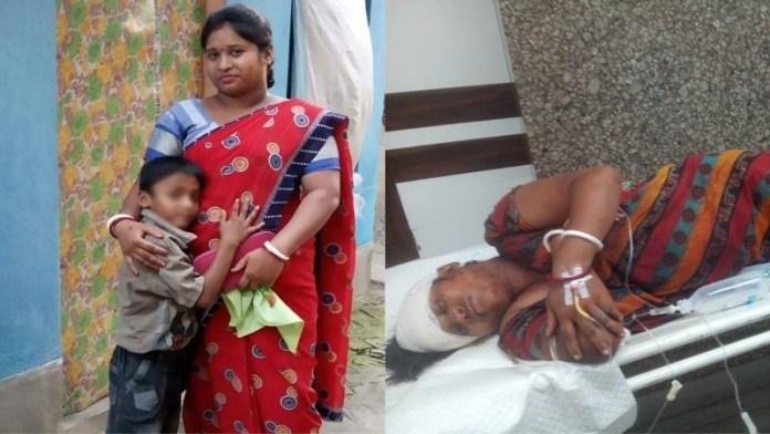 बंगाल, BJP नेता को गोली मारी