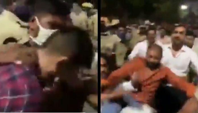 ANI पत्रकार पर हमला