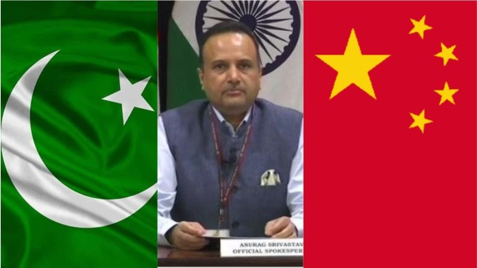 भारत का चीन और पाक को करारा जवाब