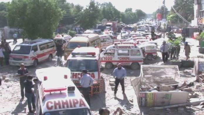 कराची, बम धमाके, पाकिस्तान, सिंध पुलिस