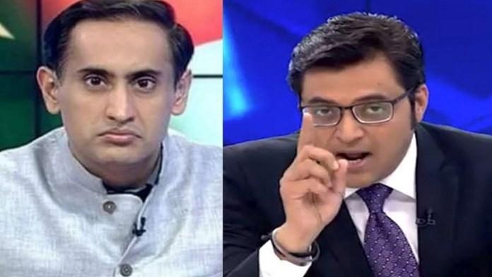 राहुल कंवल और अर्नब गोस्वामी