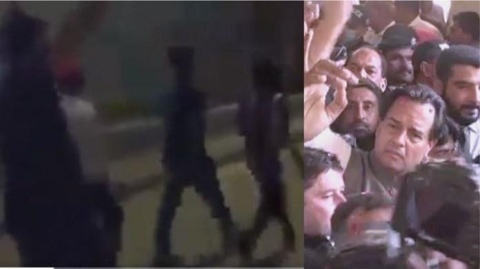 सिंध पुलिस ने सेना के ख़िलाफ़ खोला मोर्चा