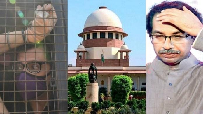 महाराष्ट्र सरकार, सुप्रीम कोर्ट, अर्णब गोस्वानी