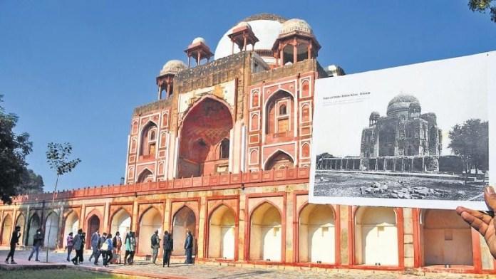 रहीम, मकबरे, मरम्मत, दिल्ली