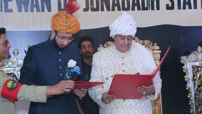 जूनागढ़, नवाब, पाकिस्तान, जहाँगीर