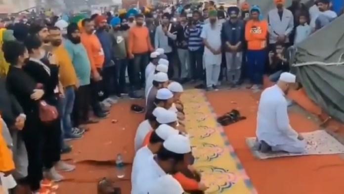 सिख, मुस्लिम, नमाज, किसान