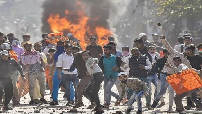 महाभारत दिल्ली दंगों में षड्यंत्र