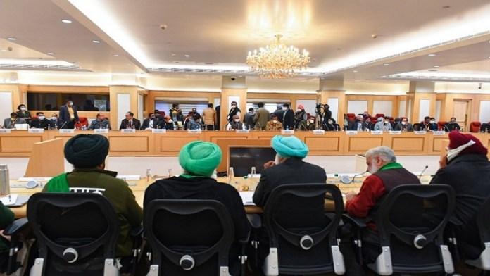 किसान आंदोलन मीटिंग