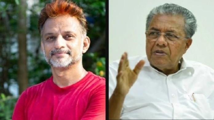 फेसबुक CM पिनराई विजयन केरल