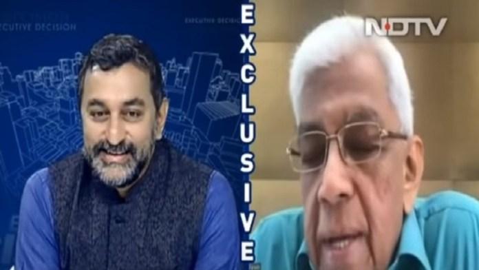 एनडीटीवी पत्रकार श्रीनिवासन जैन और एचडीएफसी प्रमुख दीपक पारेख