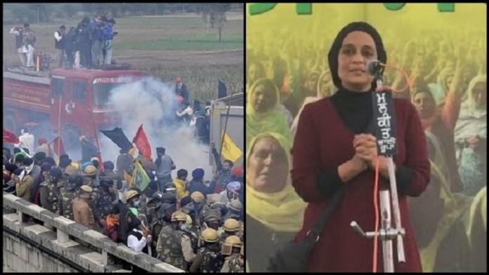 किसान आंदोलन, अरुंधति रॉय