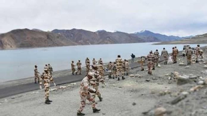 भारतीय सीमा, चीनी सैनिक