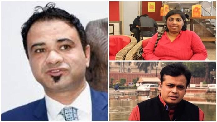 कफील खान, संजुक्ता बसु, अभिसार शर्मा