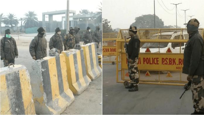 चक्का जाम, दिल्ली पुलिस