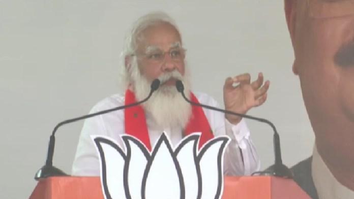 बाँकुड़ा, मोदी, बंगाल, रैली
