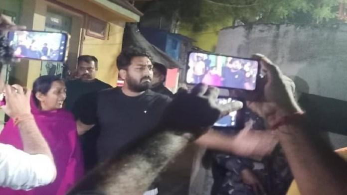 दिग्विजय सिंह, भाजपा, हमला, बंगाल