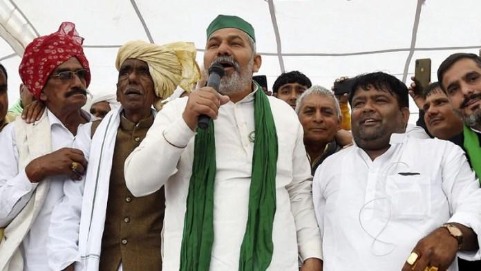 राजस्थान राकेश टिकैत