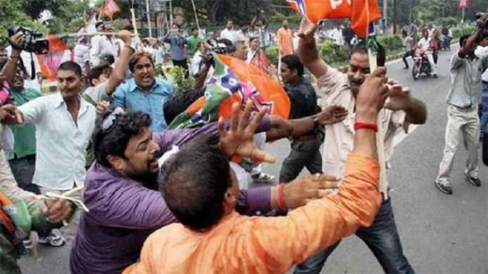 बंगाल बैरकपुर BJP-TMC