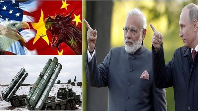 रूस US भारत चीन