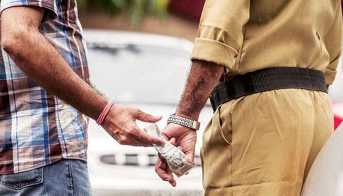महाराष्ट्र पुलिस भ्रष्टाचार