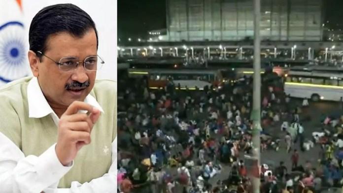 दिल्ली, लॉकडाउन, मजदूर