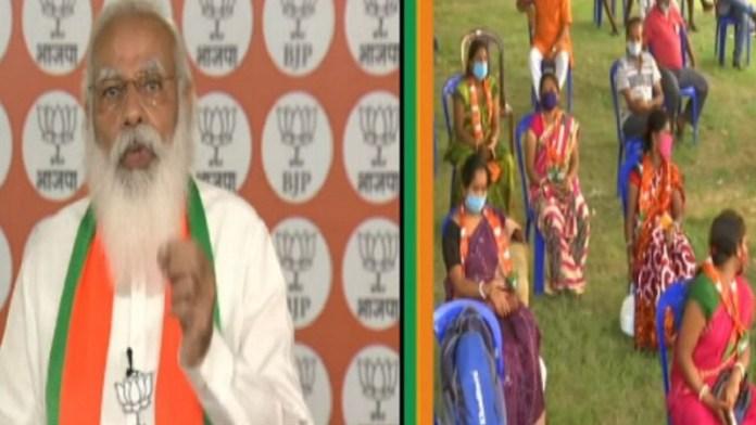 पीएम मोदी, बंगाल चुनाव