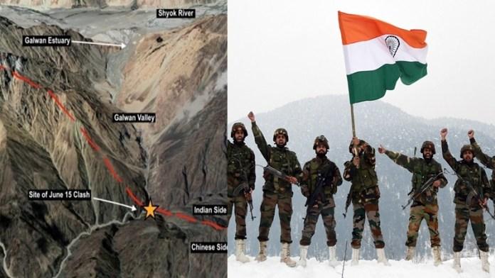 सेना भारत-चीन