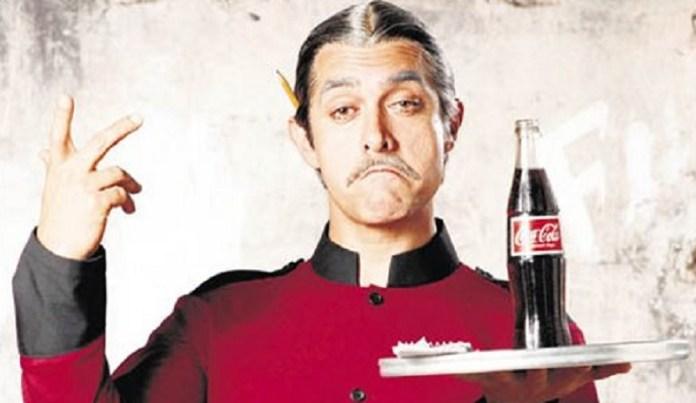 आमिर खान वेटर एक्टिंग