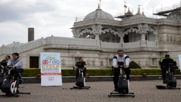 विदेशी हिंदू मन्दिर सहायता कोरोना वायरस