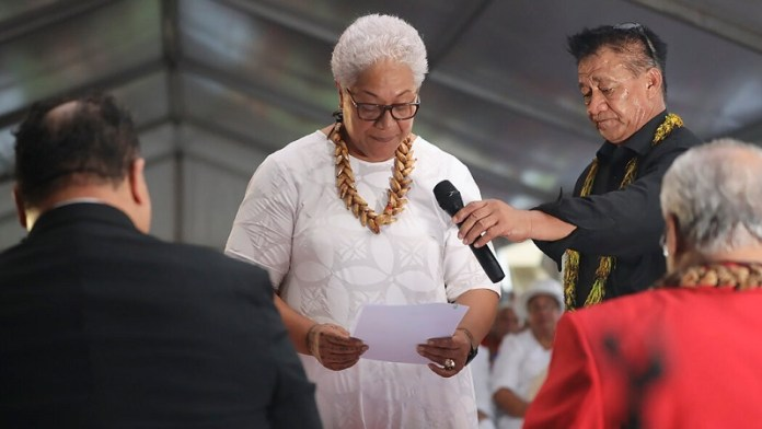 समोआ, प्रधानमंत्री