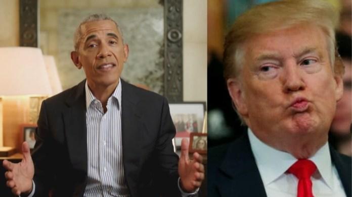 बराक ओबामा, डोनाल्ड ट्रंप
