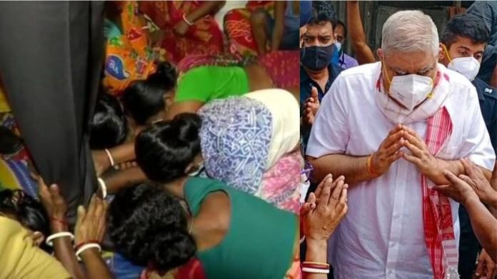 बंगाल हिंसा, जगदीप धनखड़