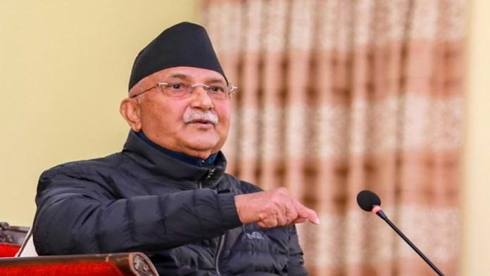 नेपाल पीएम के पी शर्मा ओली