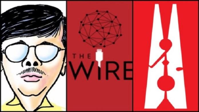 कार्टूनिस्ट मंजुल और द वायर, न्यूजलॉन्ड्री का प्रोपेगेंडा