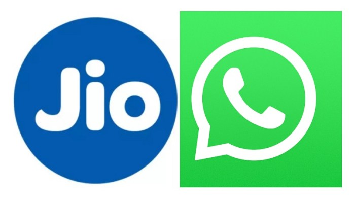 जियो व्हाट्सऐप चैटबॉट