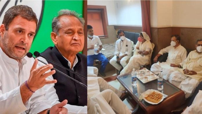 राजस्थान अशोक गहलोत