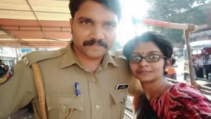 मलयालम महिला पत्रकार, पुलिसकर्मी