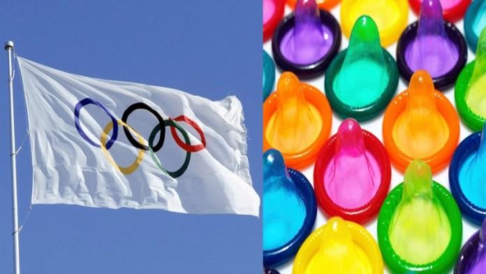 ओलंपिक खिलाड़ी कंडोम