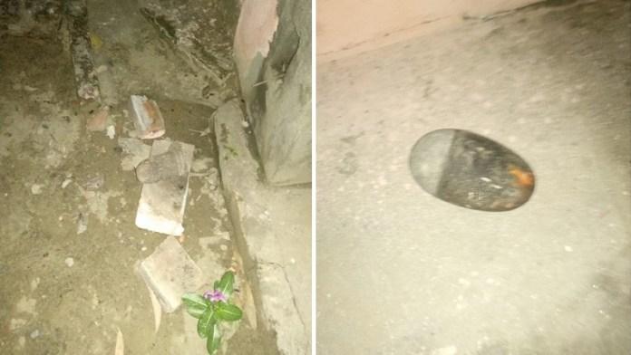 सहारनपुर में मंदिर में तोड़फोड़