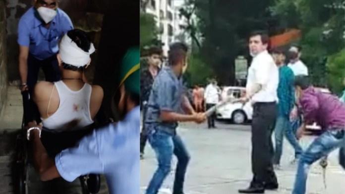 मुंबई, तलवार से वकील पर हमला