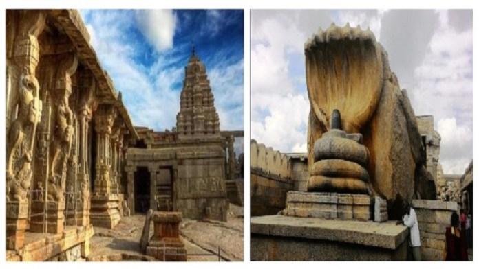 आंध्र प्रदेश के अनंतपुर में स्थित लेपाक्षी मंदिर